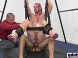 Ultimate BDSM guys are drilling hard instead of work