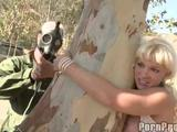 Tree Hugging MIlf Heidi
