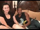 Moxie's First Interracial Sex On Cam