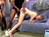 Monster black cock slamming Charlee Chase and Samantha Faye