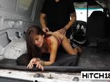 Gorgeous babe Michelle Martinez fucked by truck driver
